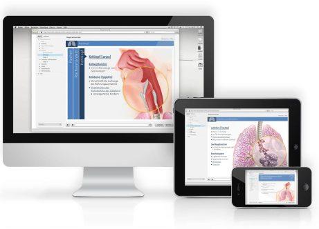 "Medizinisches eLearningprogram iSMK ""Respirationstrakt"""