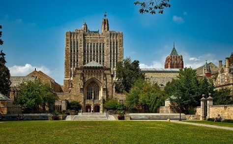 Yale University is financially accessible to all students as it provides merit based scholarships.