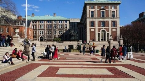 Columbia University aids come from governments and private organizations.