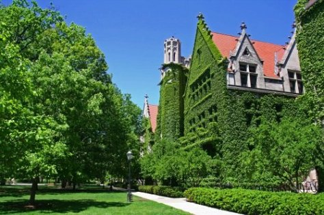 University of Chicago campus building