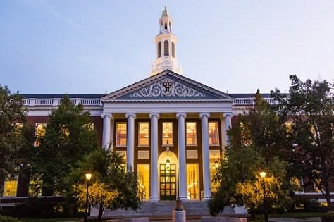 Harvard Business School main building