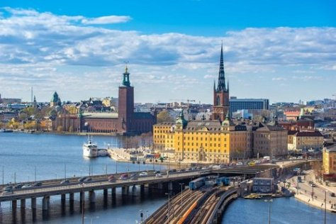 A view of Stockholm, Sweden