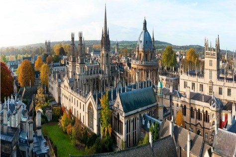 Oxford Best UK universities for psychology