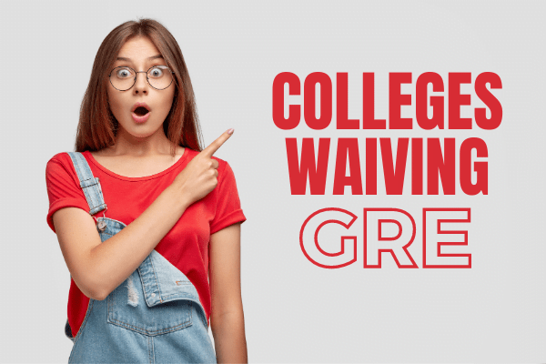 Grad schools waiving GRE