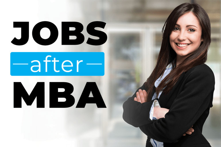 Jobs after MBA