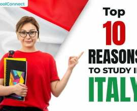 Top 8 reasons to study in Italy