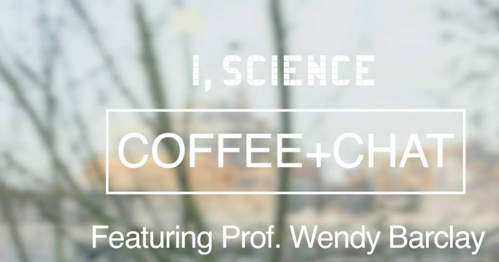 Coffe+Chat banner with Wendy Barclay