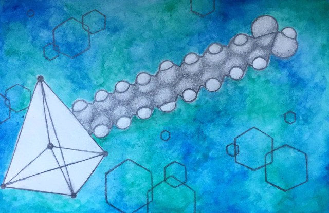 sketch of carbon structures