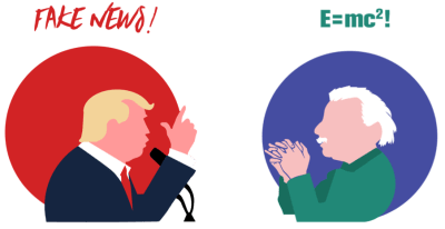 Trump versus Einstein