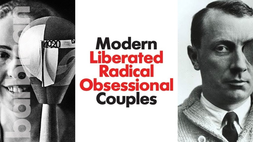 poster of modern liberated radical obsessional couples exhibit