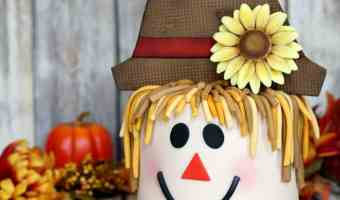 How to Make A Scarecrow Cake