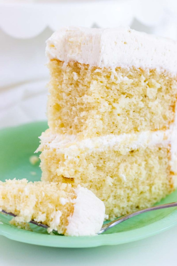Favorite Vanilla Bean Cake - I Scream for Buttercream