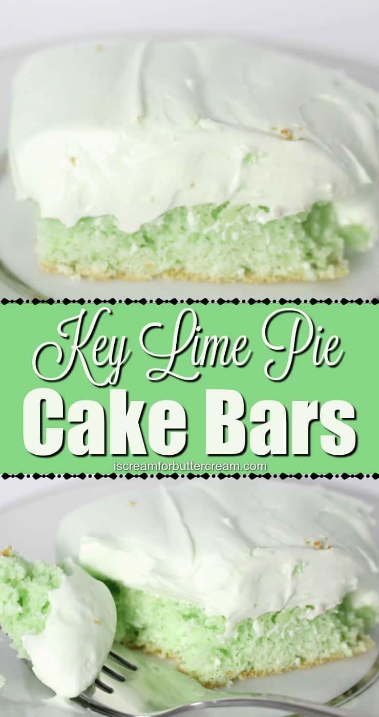 Key Lime Pie Cake Bars Pin