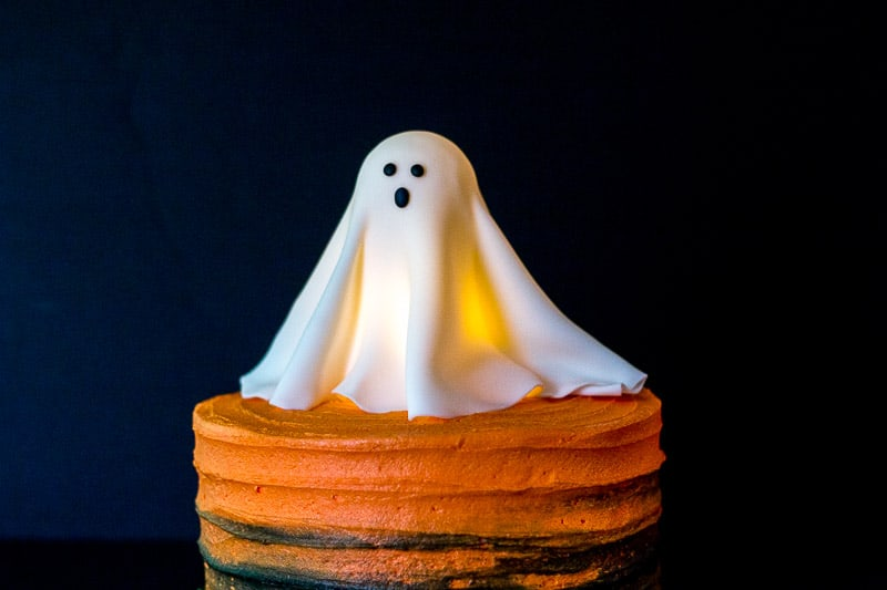 Glowing Ghost Cake Tutorial