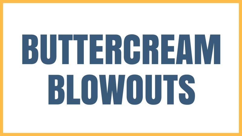 Cake Problem Buttercream Blowouts Graphic