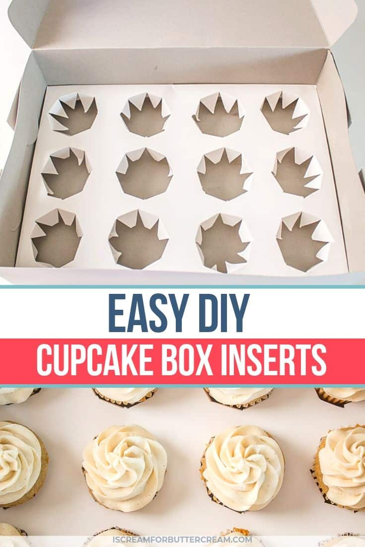 How Many Cupcakes In A Box : cupcakes, Cupcake, Inserts, Scream, Buttercream