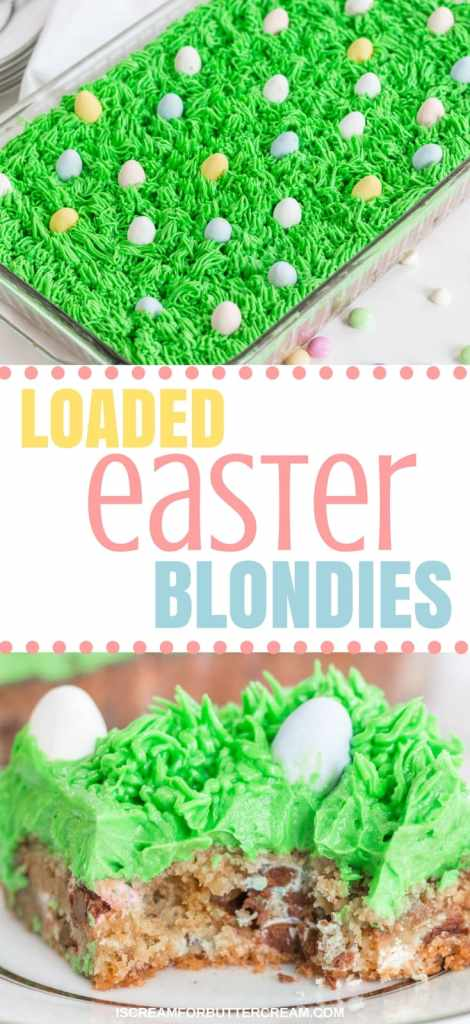 Loaded Easter Blondies Long pin Graphic