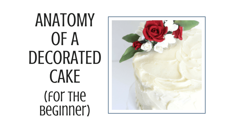 Anatomy Of A Decorated Cake For Beginners I Scream For Buttercream