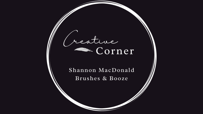 creative corner brushes and booze interview