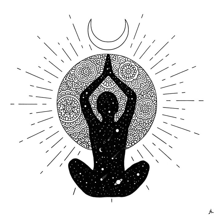 meditation mandala art