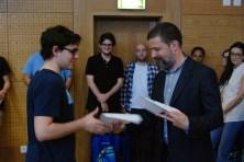 João Aparicio and Prof. Ricardo Fonseca (Foto: Miguel Martins)