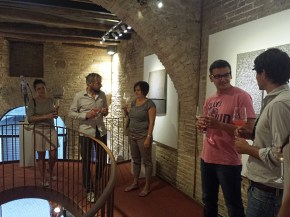 isculpture gallery moroder dall'osso contemporary gallery castello di casole