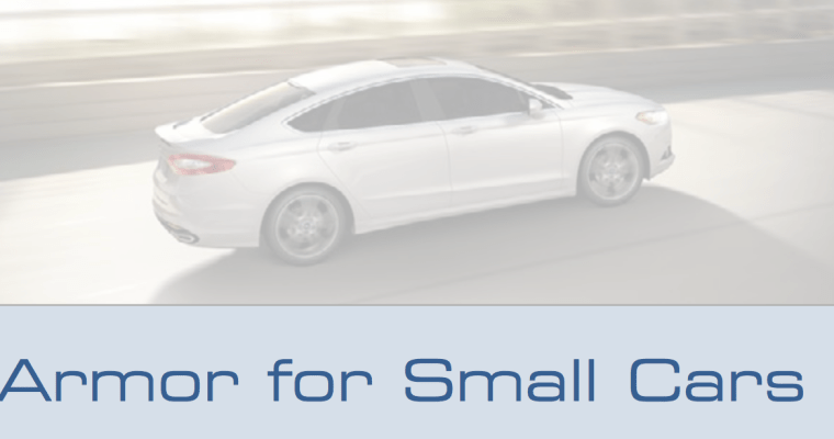 Armor for small cars
