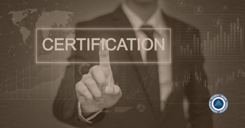 EP Certification vs. Certificate