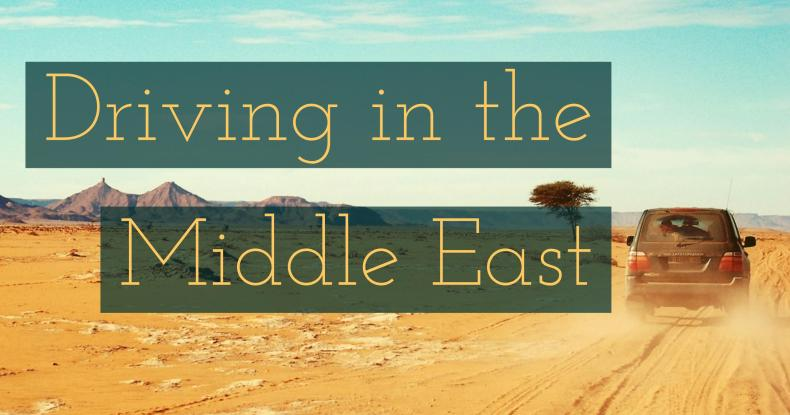 driving in the middle east