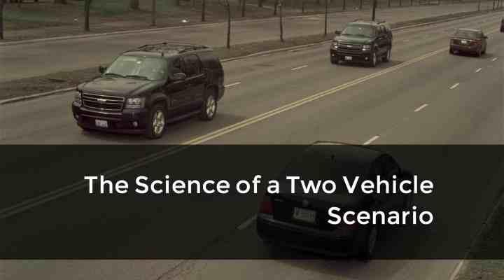 The science of two car scenarios