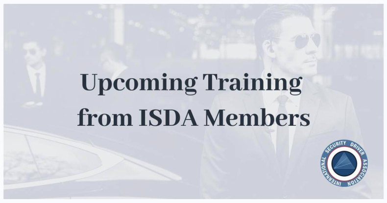 Upcoming training from ISDA members