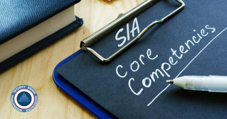 SIA core competency