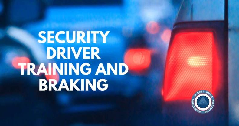 security driver training and braking