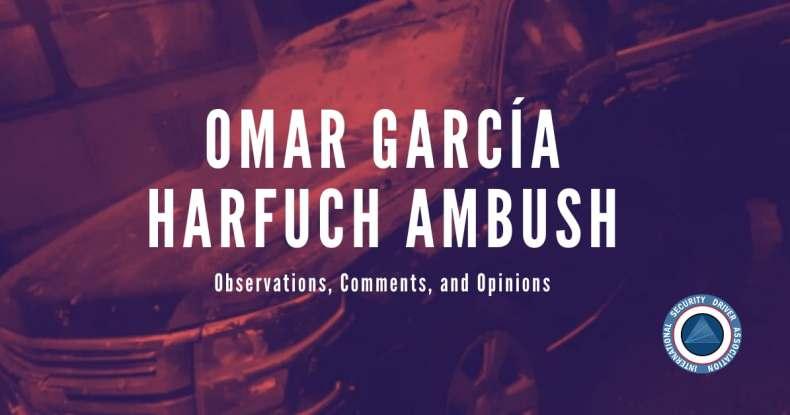 Omar García Harfuch Ambush
