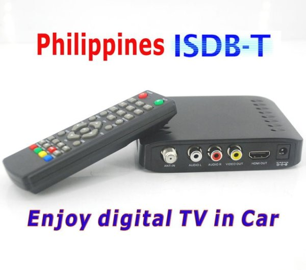Car ISDB-T Philippines Digital TV Receiver 1 -