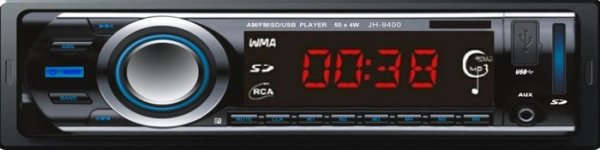 VCAN0720 In dash One din Car USB SD MP3 player 1 -