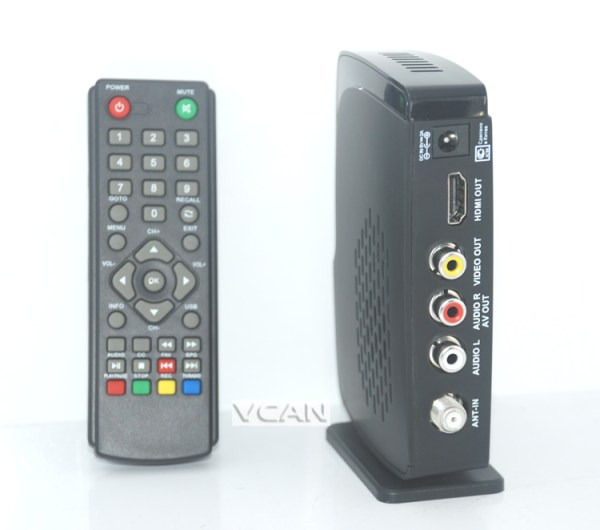 HD ISDB-T Home TV receive box USB support 1 -