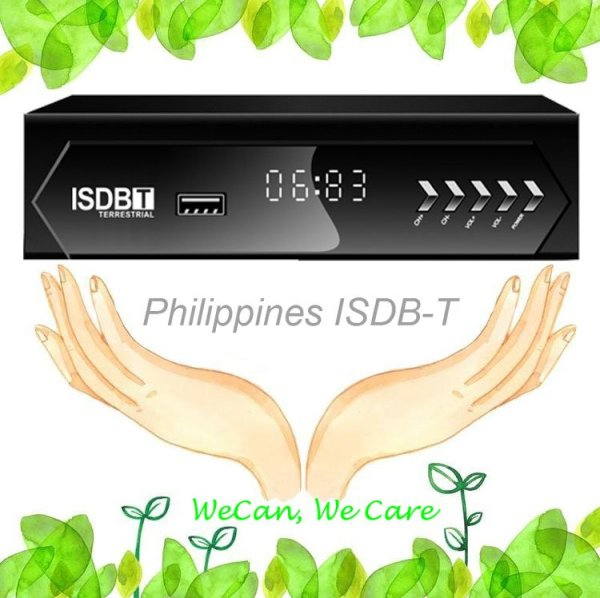 Philippines Home ISDB-T Digital TV Receiver 1 -