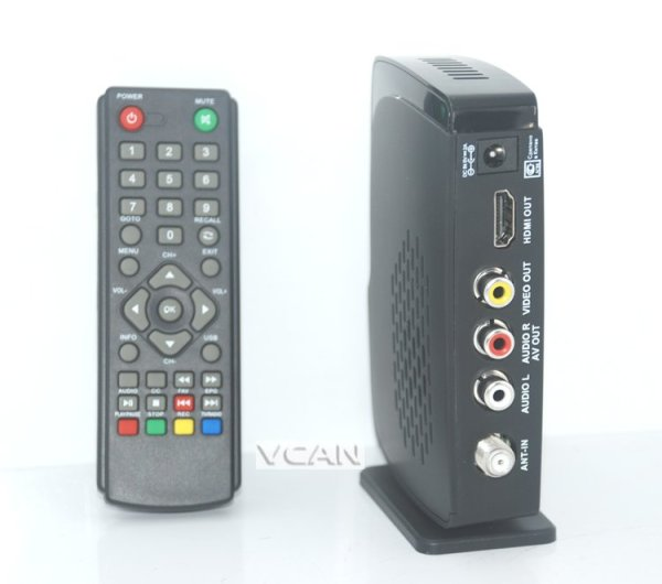 Home DVB-T2 Digital TV receive box USB support with PVR function 1 -