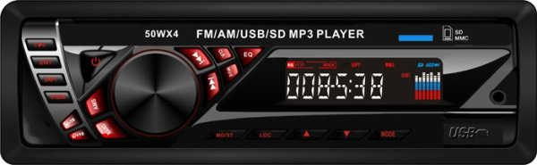 In dash One din Car USB SD MP3 player FM radio 1 -