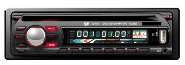 DVCD CD MP3 MP4 USB compatible player Car radio 1 -