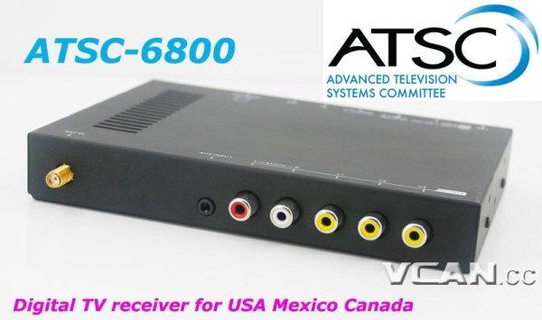 Digital TV Receiver ATSC Tuner Box in Car For USA Mexico Canada 1 -