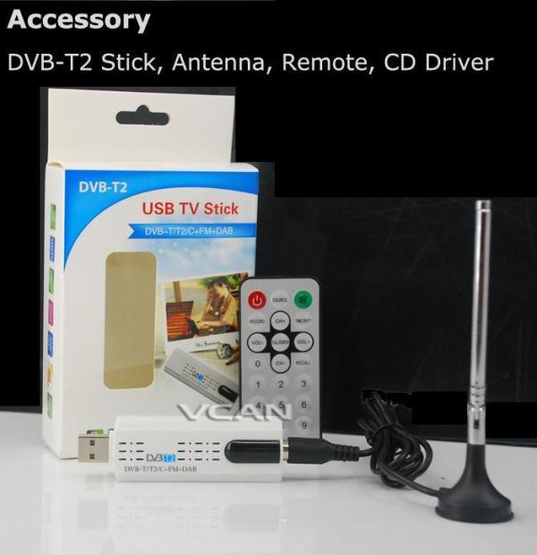 USB DVB-T2 PC DTV receiver DVB-T2 DVB-T DVB-C SDR FM DAB TV stick 2 -