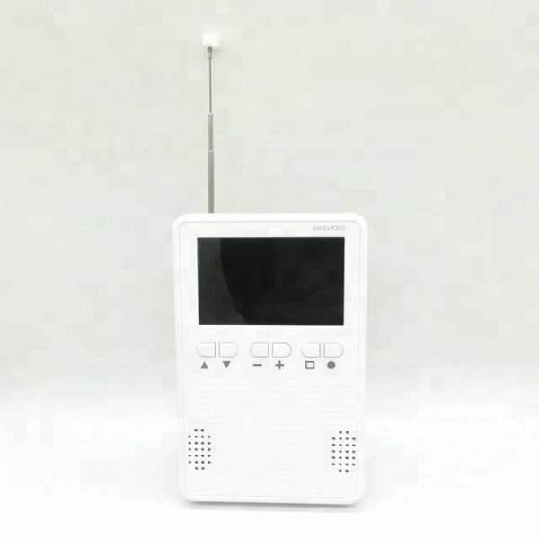 one seg tv am fm radio 3.2 inch monitor Portable digital isdb-t tv Pocket TV with speaker earphone output 4 -
