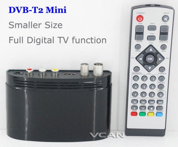 DVB-T2 mini Digital TV receiver 1 -