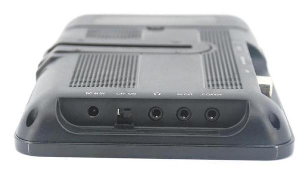 Portable handheld HD DVB-T dvb-t TV receive box 4 -