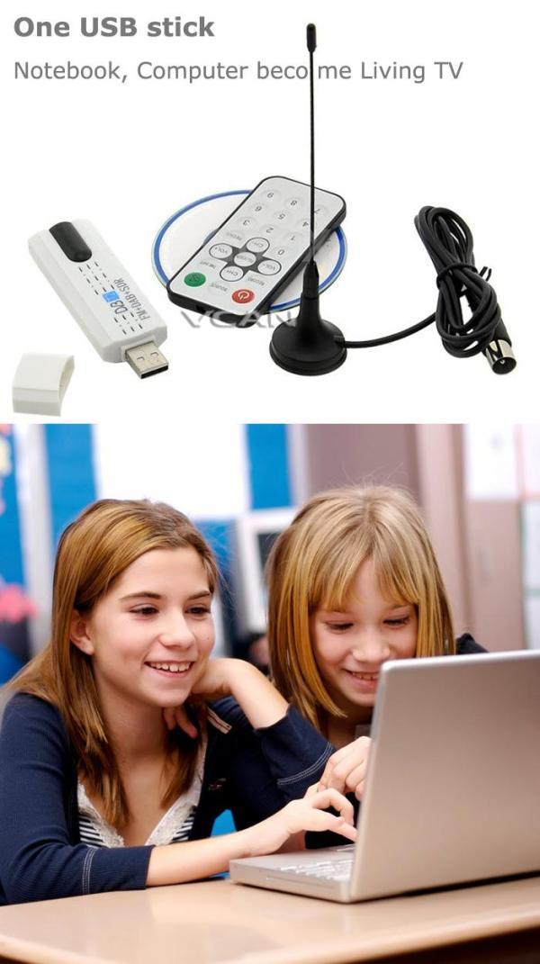 USB DVB-T2 PC DTV receiver DVB-T2 DVB-T DVB-C SDR FM DAB TV stick 5 -