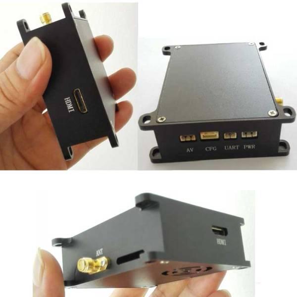 COFDM Wireless Video Transmitter HDMI cvbs input mini modulator module long distance fpv uav 905t 1 -