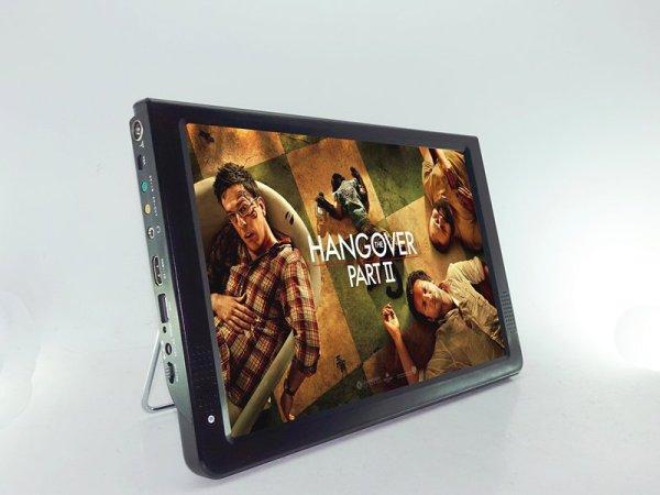 "12"" DVB-T DVB-T2 portable player with ATV H.265 VCAN1477 1 -"