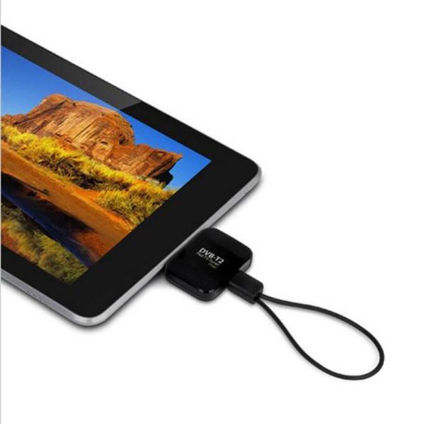 DVB-T2I Android DVB-T2 DVB-T TV receiver for Phone Pad Micro USB TV tuner apk 2 -